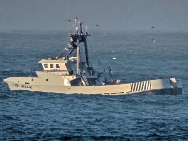 F/V Last Straw off Yachats Ken Gagne photo