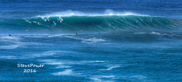 Nelscott Reef surfing competition at Lincoln City.  A little bit of Hawaiianesque excitement! Steve Power photo