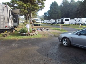 Shooting scene at Fogarty State R/V Park, Sunday. LCSO photo