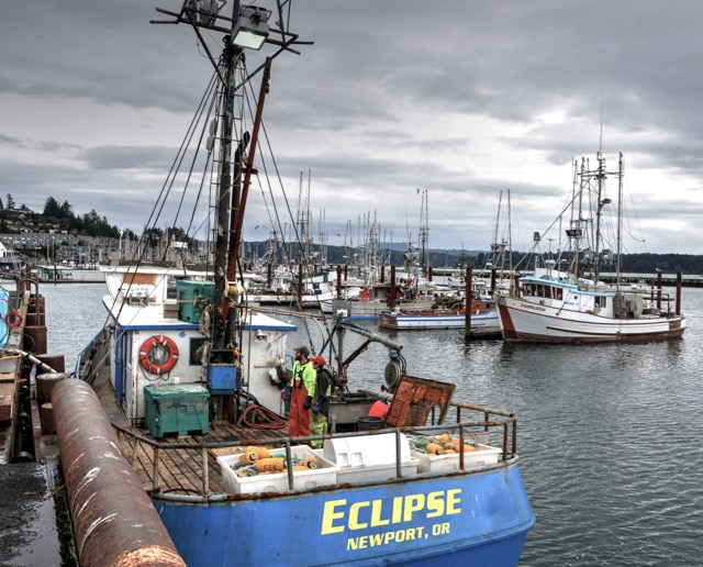 F/V Eclipse pulling up to the dock on the Bayfront! Ken Gagne photos