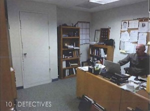 Detectives work area