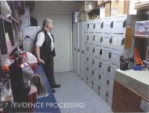 Evidence processing