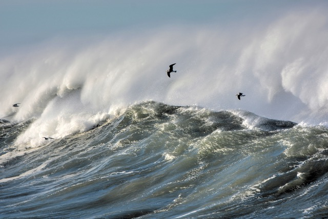 Yachats Bay meets the mighty Pacific Ken Gagne photo