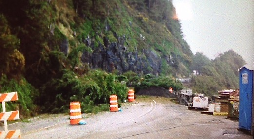 Landslide covers Hwy 101 just south of Heceta Head.  ODOT predicts road back open by 6am Monday.  Take Highways 126, 34, 20 or 18 to get to the Valley.