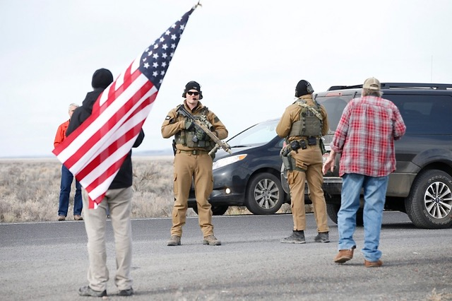 The final surrender of occupiers at Malheur NWR The Oregonian photo