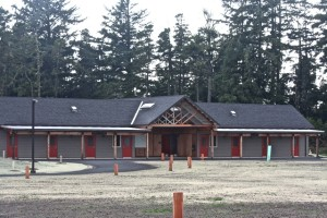 Camp Gray bunkhouse for students and families west of Highway 101 in South Beach.
