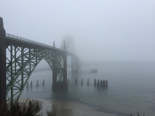Yaquina Bay Bridge ...just one of her many moods...