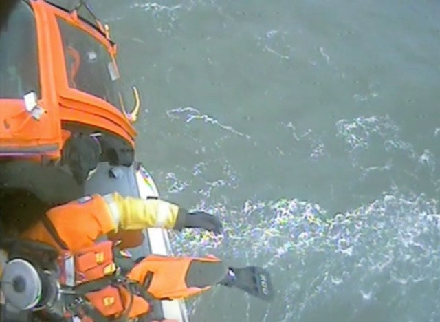 Coast Guard rescuers getting ready to do save more lives.