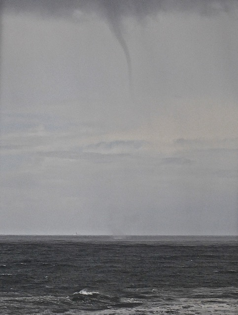 Waterspout off Seal Rock Hast and Hollyfield photo