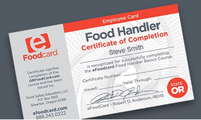 200th Food Handler's Card awarded at Lincoln County Jail