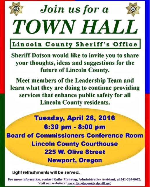lcso town hall cths