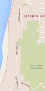 SW Coast Avenue being repaved this summer. Google Maps graphic