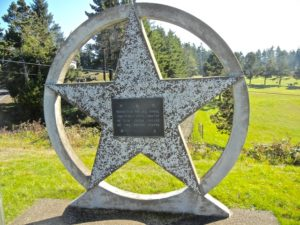 Veterans Star at Eureka Cemetery, Newport