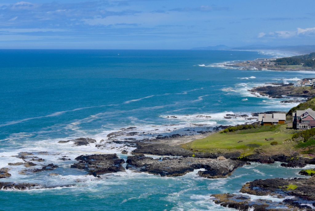 Yachats as seen from Cape Perpetua Ken Gagne photo