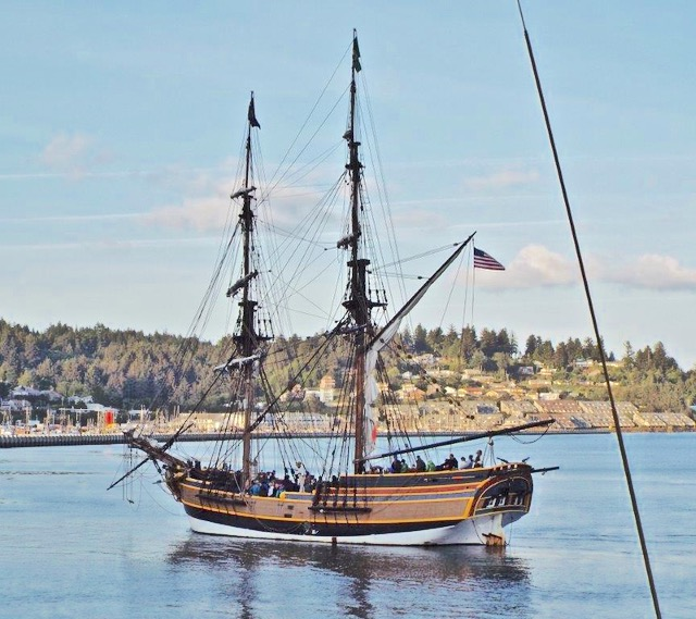 Tall ships have been delighting locals and tourists alike during their extended visit to Newport.  Glen Weaver
