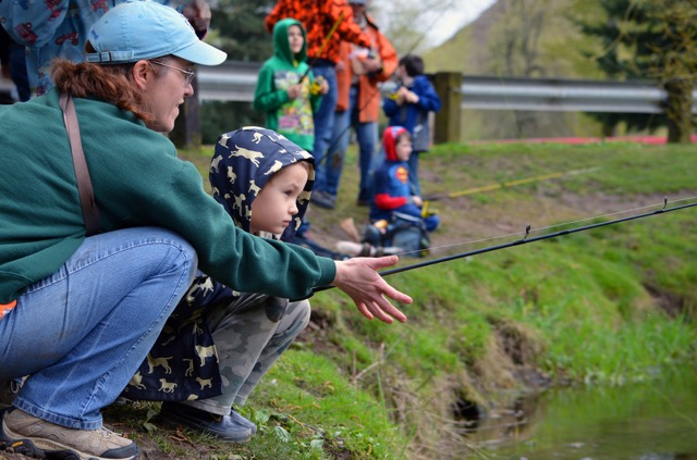Fishin r us in ory gun redmond news today for Odfw fish stocking