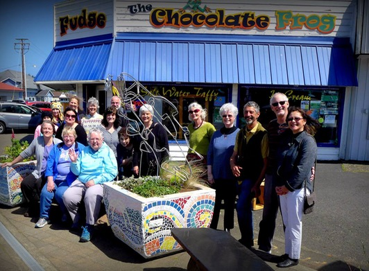 Ford Foundation funded south county beautification grant bears artistic flair for shoppers!