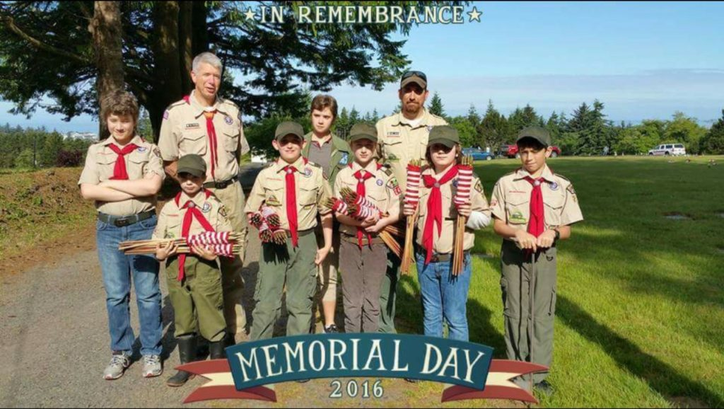 Boy Scout Troop 240 In Remembrance