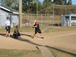 Prelude to a home run! Newport Softball sign-ups.