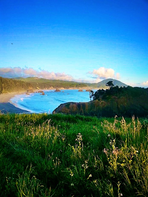 Beautiful afternoon at Port Orford Kim Carlson