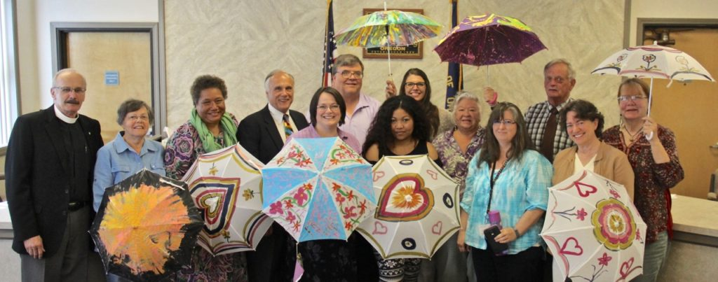 Shelter Me Week promoters County Commission meeting Wednesday