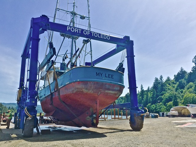 F/V My Lee Toledo Boat Yard Aja Vickers photo