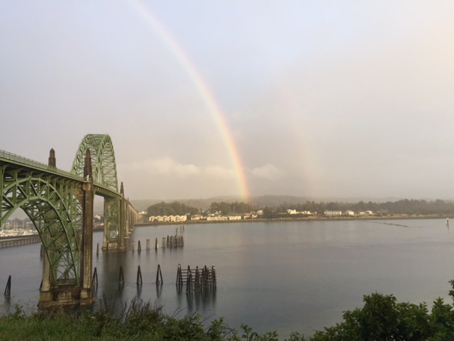 Yaquina Bay Rainbow Daniella Crowder