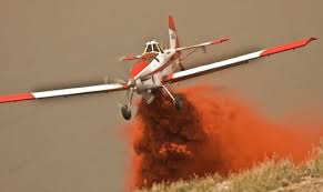 Single Engine Air Tanker BLM file photo