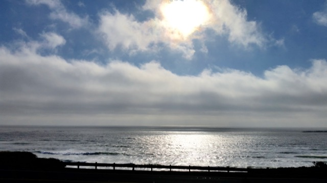 That darn ole marine layer coming in to crowd out the sunset...at least at Beverly Beach! Pauline Morrison photo