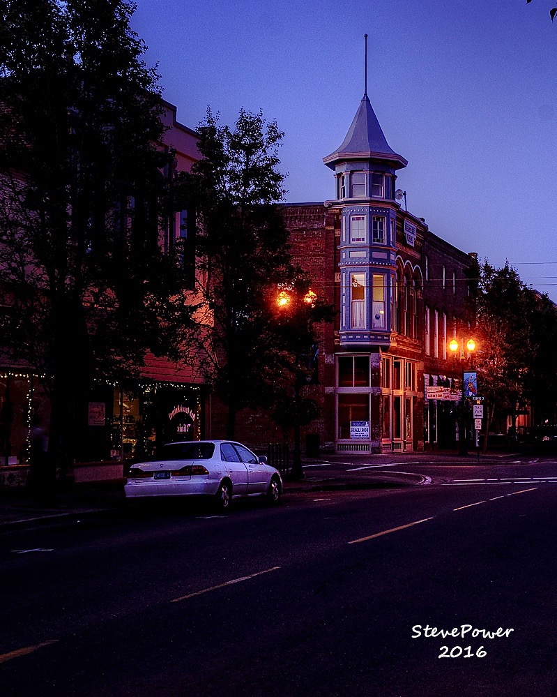 Downtown Independence Sunset afterglow Steve Power