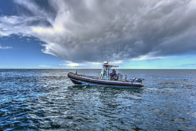 OSP Fishing Law Enforcement Ken Gagne photo
