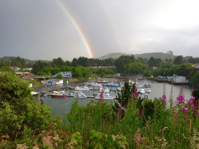 Depoe Bay and the Pot 'o Gold just waiting to be found.... Valerie Sovern photo