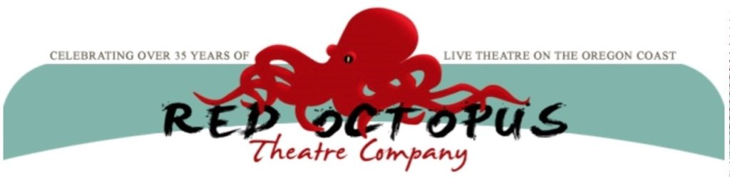 red octopus theater banner