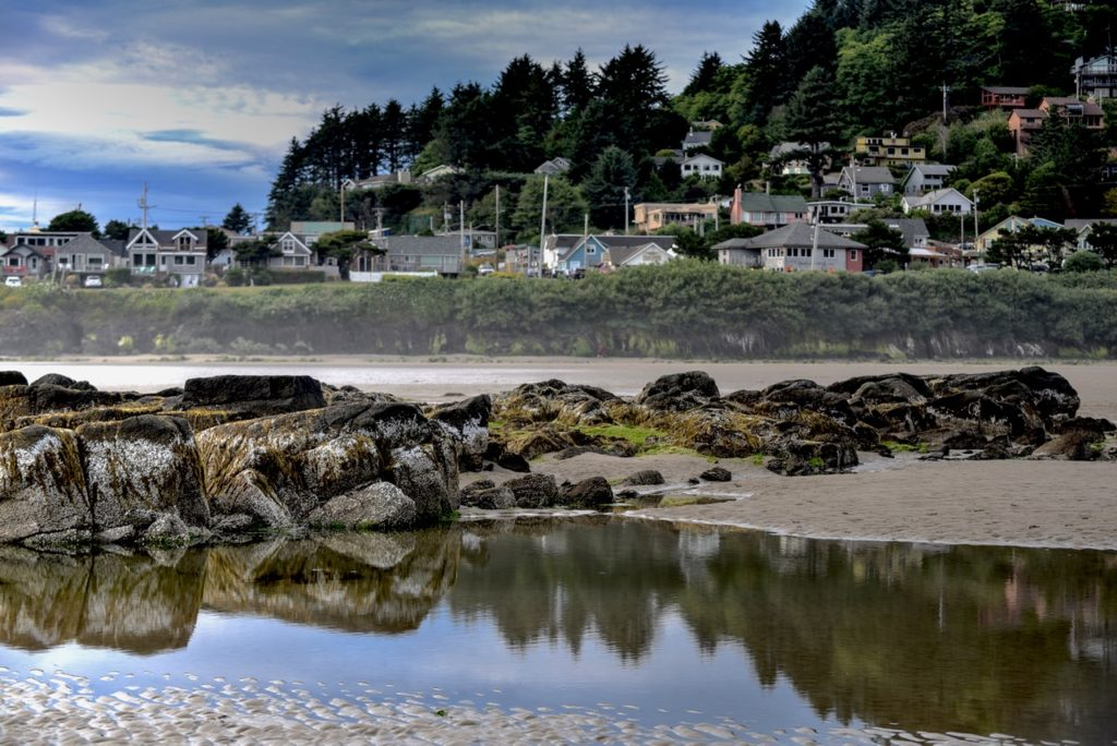 Yachats at low tide Ken Gagne photo