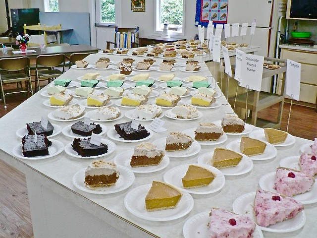 Yachats Ladies Club is back at it - baking scrumptious pies to help raise funds for good causes.