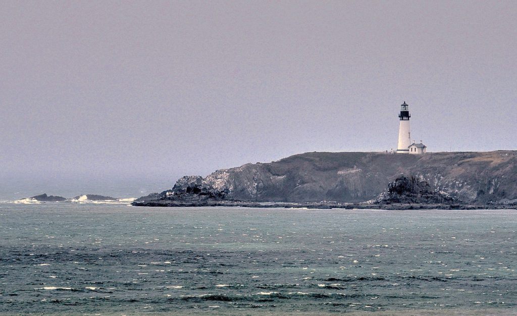 Yaquina Head Lighthouse Looking like the dead of winter... Ken Gagne