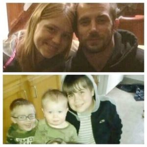 Allyson and Joshua and their three boys...cheated out of their meager savings trying to buy a modest home in Depoe Bay.