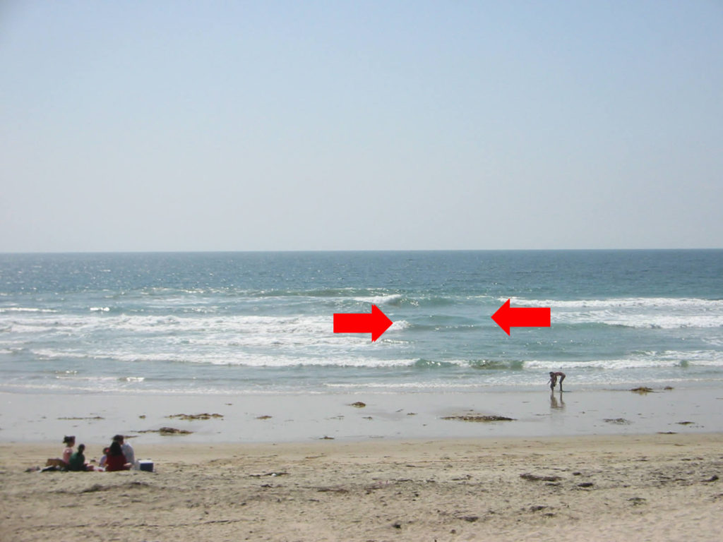 Treat a rip current it like the big open mouth that it is...STAY AWAY!