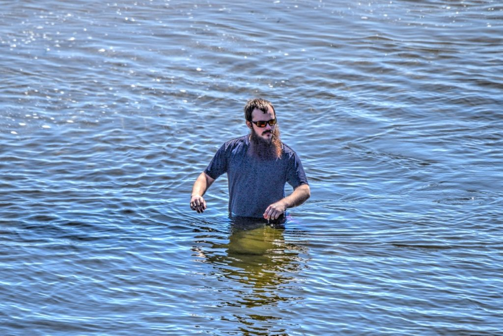 Good Grief!  I swear mother told me I could walk on water if I put my mind to it....