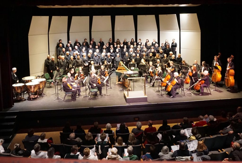 Central Coast Chorale Announcing music series