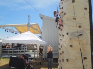 lincoln county fair climb wall tom mock