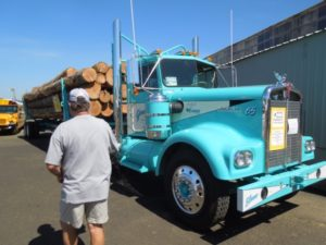 lincoln county fair log truck tom mock