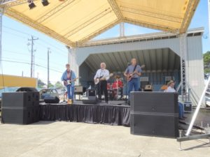 lincoln county fair music stage band tom mock