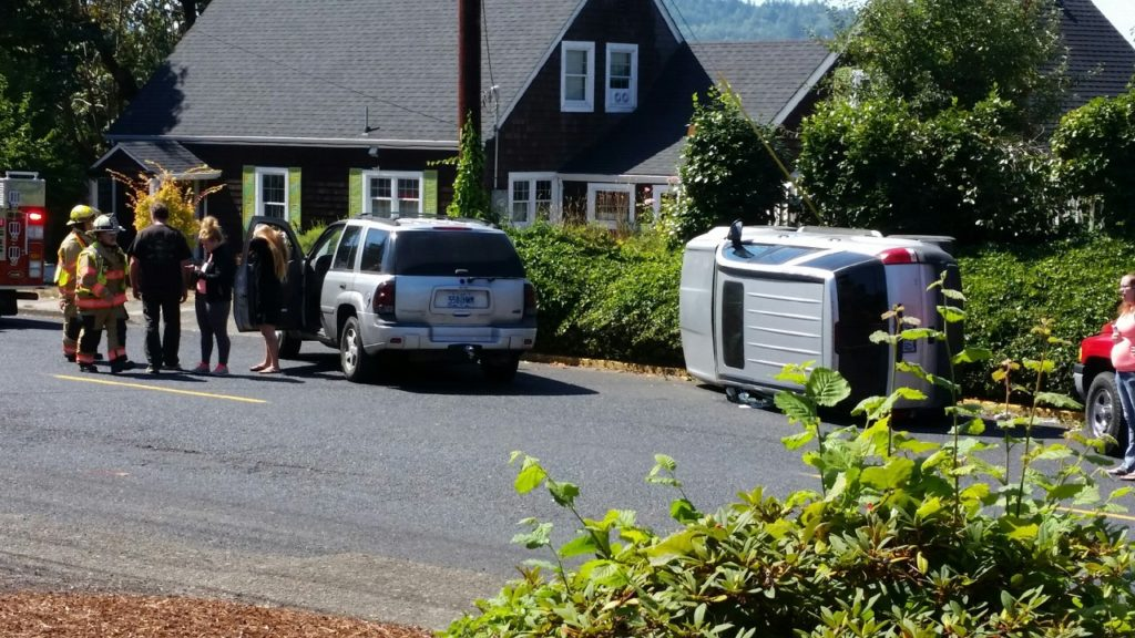 1st and Business 20 Rollover - No injuries.