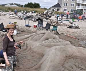 Sandcastle Contest SW 51st Street Beach Lincoln City this Saturday at 11am