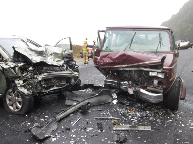 Head-on crash kills 92 year old Waldport man on 101 north of Florence.