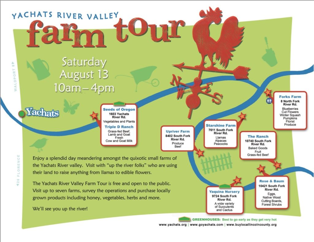yachats valley farm tour