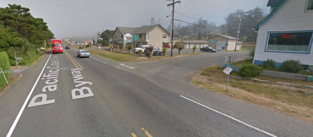Intersection of 101 and Art Street - Google Maps