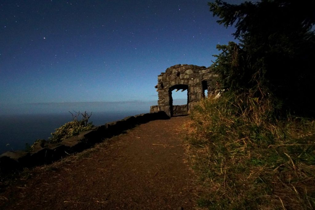 As sun fades from atop Perpetua...the stars start coming out... Kerry Terrel