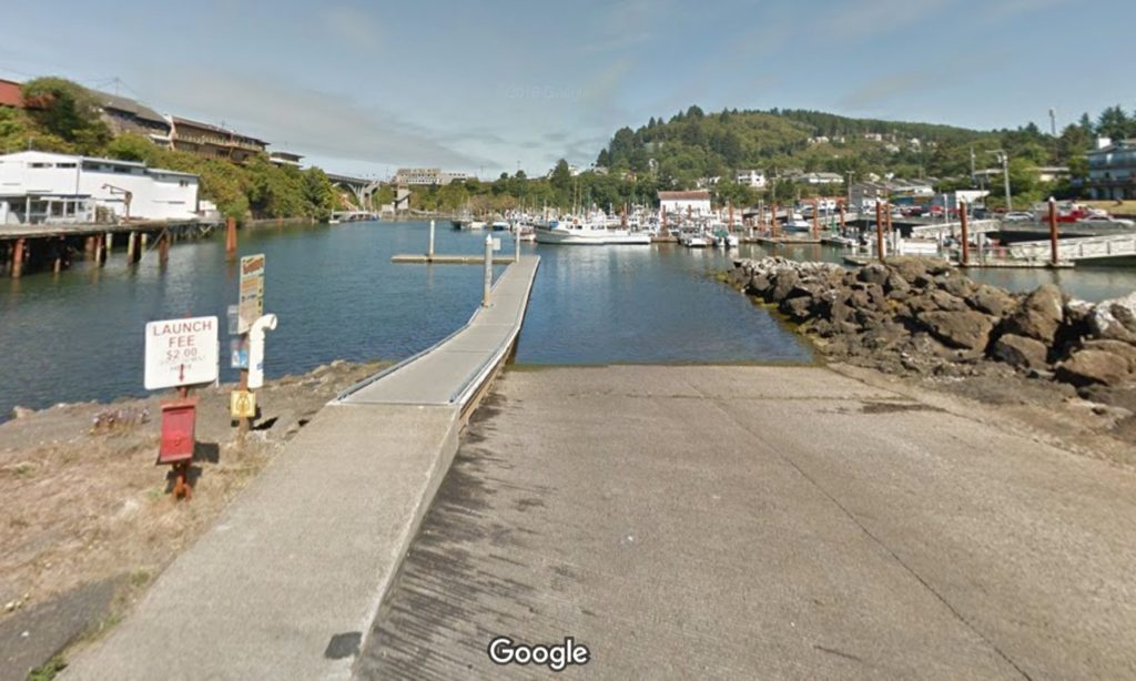 Boat dock at north end of Shell needs a transplant! Google Maps